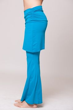 3097bedc122 Bell Bottom Dance Pants – Turquoise – On Sale