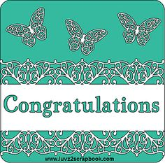 This is a fast and simple Congratulations card designed on the Cricut Design Space using images from Close To My Heart's Art Philosophy Cartridge.  You can make this card in a variety of sizes and can easily mass produce in little time.  Add your pesonal touch by using embellishments and printed paper.  www.luvz2scrapbook.com www.luvz2scrapbook.ctmh.com