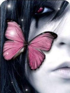 Emo Butterfly 1 Wings Picture And Wallpaper