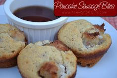 A quick and easy breakfast that you can make ahead and freeze! The kids love this Pancake Sausage Bites Recipe. So do I!