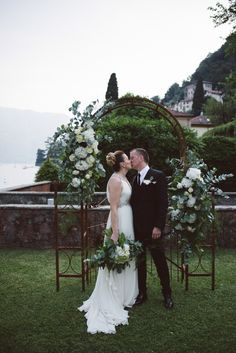 Botanical Copper Greenery Lake Como Wedding http://margheritacalatiphotography.com/