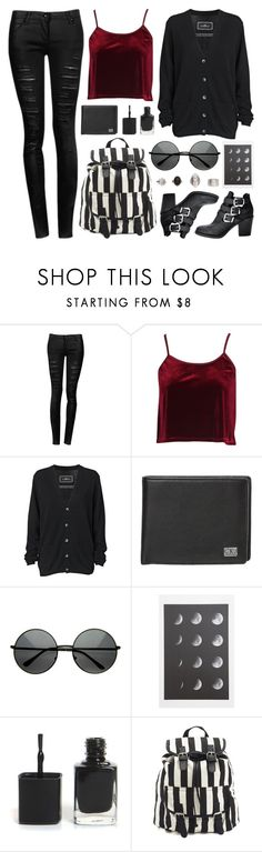 """Blood Moon"" by deca-froses ❤ liked on Polyvore featuring Boohoo, By Malene Birger, Calvin Klein Jeans, Charlotte Russe and H&M"