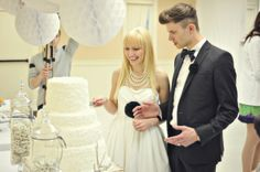 vintage rock and roll wedding