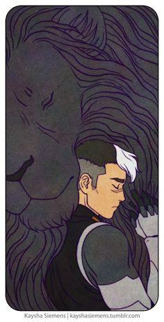 Shiro and black lion - Kaysha Siemens