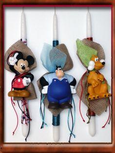 Πασχαλινές Λαμπάδες Disney