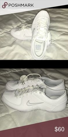 7640d58135849 Shop Women s Nike White size 9 Athletic Shoes at a discounted price at  Poshmark.
