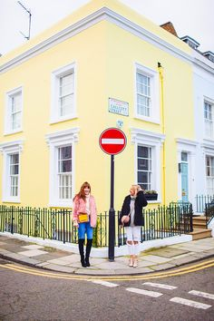 street style fashion portrait photographer London Notting Hill winter Belle and Bunty colourful (9)