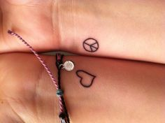 Love my two little tattoos :)