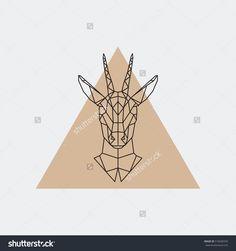 stock-vector-vector-deer-female-geometric-portrait-abstarct-illustration-576600259.jpg (1500×1600)