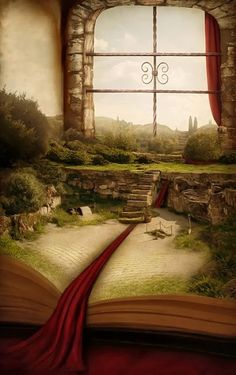 A magical adventure is set to begin. Can you imagine having a room like this? Fantasy World, Fantasy Art, Fantasy Books, The Magic Faraway Tree, World Of Books, Book Nooks, Faeries, Book Lovers, The Book