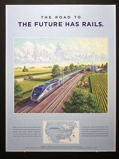 amtrak poster art | Railroad Art | The Landscapes of J Craig Thorpe