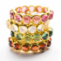 @Tricia Cox @Laura Mettee - I know you were both looking at stacked rings, these are beautiful!