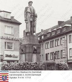 Darmstadt, Bismarckdenkmal 1979,