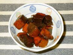 マグロ血合いの角煮(佃煮)