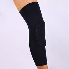 e7c55f720f01e Basketball knee pads Adult Football knee brace support Leg Sleeve knee  Protector Calf Support Ski/