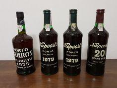 www.EuropeanCollector.com - online auction: 2x 1979 Colheita Port - Niepoort - bottled in 1989 and 1990 & 1975 Barros - Colheita Port - bottled in 1995 & 20 years old Tawny Port - Niepoort - bottled in 1991 - 4 bottles in total