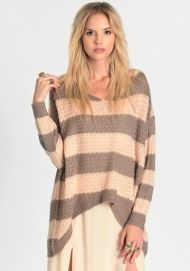 Carmen Striped Sweater