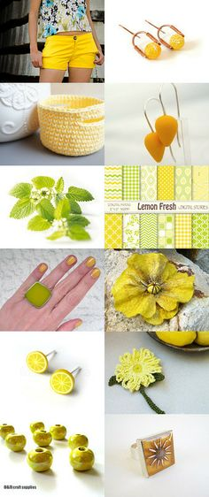 Lemonade ! by Elena on Etsy--Pinned with TreasuryPin.com