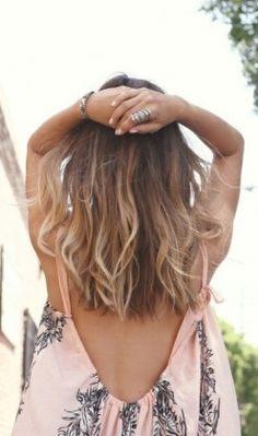 Ombré hair styles for medium hair Ombré Hair, Hair Day, New Hair, Blonde Hair, Wave Hair, Blonde Bayalage, Baylage, Boho Hairstyles, Pretty Hairstyles