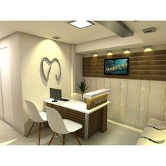 Six Dental Office Floor Plan Dental Office Decor, Medical Office Design, Pharmacy Design, Clinic Interior Design, Clinic Design, Dental Reception, Cabinet Medical, Dental Design, Office Floor Plan