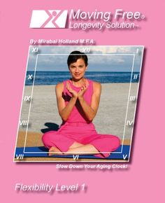 Senior Easy Yoga, Dance Stretches, Core strength, Better Posture, and Balance. Moving Free Longevity Solution, Flexibility Level 1 by Mirabai Holland NuVue Inc. http://www.amazon.com/dp/B001CSM9QW/ref=cm_sw_r_pi_dp_Wf7tub0E2WF16