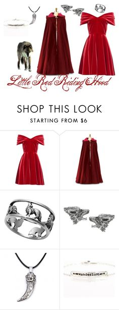 """""""Little Red Riding Hood"""" by magpie-geek7103 ❤ liked on Polyvore featuring Emilio De La Morena, Journee Collection, Blooming Lotus Jewelry and modern"""
