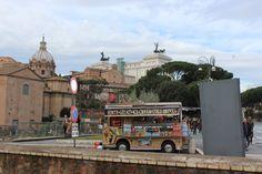 Une des nombreuses roulottes pour les petites pauses ^^, ROME