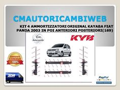 4 Ammortizzatori Magneti Marelli Panda 169 1.4 Natural Power 57 Kw