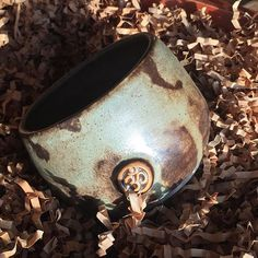 cup in using Ceramic Arts Daily, D Craft, Serendipity, Cuff Bracelets, Pottery, Japanese, Photo And Video, Tea Cup, Glaze