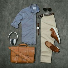 Men | outfit | syle Cool Outfits For Men, Casual Outfits, Casual Attire, Casual Dresses, Style Gentleman, Stylish Men, Men Casual, Casual Styles, Casual Chic
