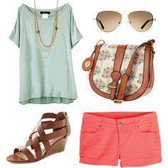 A Friendly Look, created by traci-sisson on Polyvore
