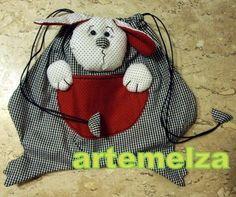 ARTEMELZA - Arte e Artesanato: Infantil – bolsa cachorrinho | puppy purse