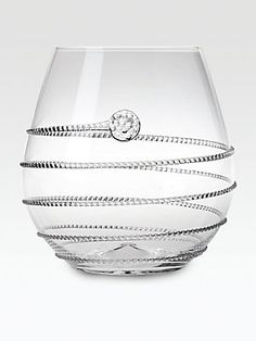 Juliska Amalia Stemless Red Wine Glass #NEED, but I wonder if it is comfortable to hold.