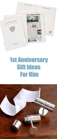 1st Wedding Anniversary Gift Ideas For Him Uk : 1st Wedding Anniversary Gift Ideas on Pinterest 1st Anniversary ...