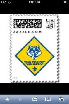Cub Scout Stamp
