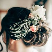 Hair created by flowers & fringes, real rosemary and fresh flowers for the perfect romantic look and scent! Boho Bridal Hair, Salon Services, Romantic Look, Fringes, Cut And Color, Fresh Flowers, Hairdresser, Salons, Bridesmaid