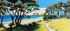 Hahei Pathways - Tony Ogle - Prints - Art - Artport Online, Ltd.