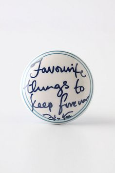 Cute Gifts: Cute knob for small dresser or cabinet...for a special BFF who would appreciate the sentiment...or a gift for yourself!