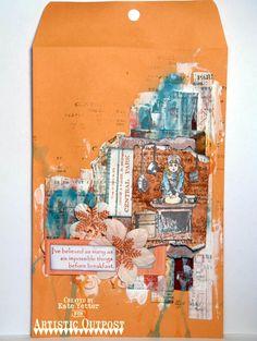 Stamps - Artistic Outpost Skating Emporium, The Baker, Ephemera Backgrounds