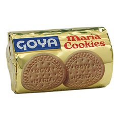 Goya Maria Cookies, favorite in Latin America and Spain, this biscuit delight is the perfect snack to enjoy at any time of day. Crispy sweetness alone, or to prepare spectacular desserts.