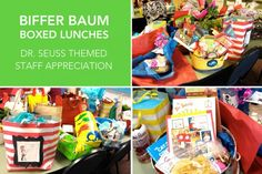Dr. Seuss teacher appreciation week ~ Biffer Baum Boxed Lunches