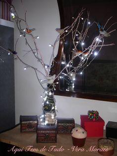 Reaproveitando decoração de Natal