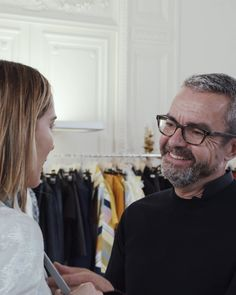 Take an exclusive look behind the scenes as Akris Creative Designer Albert Kriemler bring his stunning designs to life! Face Wrap, Stretch Pencil Skirt, Ribbed Cardigan, Velvet Jacket, Silk Wool, Silk Crepe, Plaid Flannel, Every Woman, Wrap Style