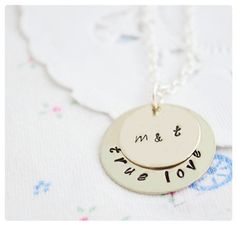 Couples Necklace - $25.99. http://www.bellechic.com/products/d13a6dfa53/couples-necklace