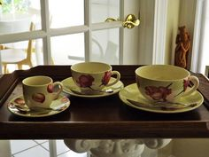 {Difference Between Coffee & Tea Cups} : GIEN ROSE