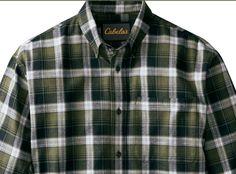 Cabela's Men's Legendary Super-Soft Long-Sleeve Flannel Shirt