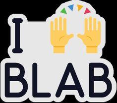 Blab - Sticker Mule