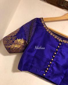 maggam work blouse designs You are in the right place about boat neck blouse designs Here we offer y Indian Blouse Designs, Simple Blouse Designs, Saree Blouse Neck Designs, Stylish Blouse Design, Bridal Blouse Designs, Boat Neck Designs Blouses, Traditional Blouse Designs, Designer Blouse Patterns, Embroidered Blouse