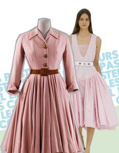 Le New Look de Christian Dior, les jupes corolle, les robes à la taille hyper cintrées… Mais que reste-t-il de cette époque ? Le musée Galliera consacre, jusqu'au 2 novembre 2014, une exposition aux années 50. Tour d'horizon de ce qu'on a gardé de ce style glamourissime. http://www.elle.fr/Mode/Dossiers-mode/Mode-des-annees-50-7-details-toujours-tendance