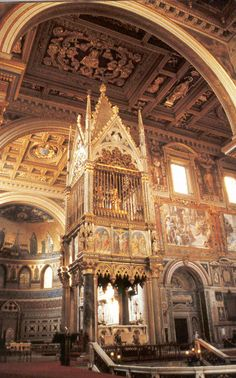 Blessed Solemnity of the Dedication of St John Lateran, Seat of the Holy Father #pinterest #lateranbasilica Most Catholics think of St. Peter's as the pope's main church, but they are wrong. St. John Lateran is the pope's church, the cathedral of the Diocese of Rome ..